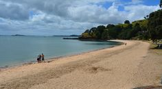 Cheltenham Beach in Devonport, Auckland New Zealand. Definitely not to be missed when you travel down under. Auckland New Zealand, Traveling By Yourself, Beautiful Places, Beach, Water, Life, Outdoor, Gripe Water, Outdoors