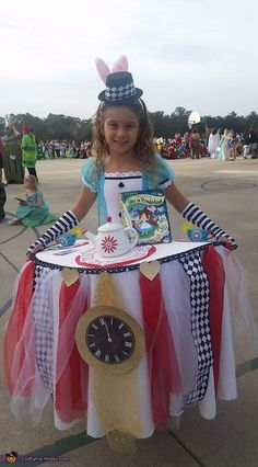 Alice at the Tea Party Costume - 2017 Halloween Costume Contest