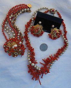 Vintage Haskell Necklace Set | eBay