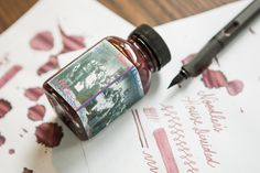 Noodler's House Divided Fountain Pen Ink. Pin for Later!