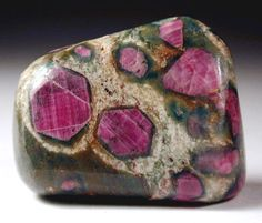 Ruby in Zoisite #gems #crystals #minerals