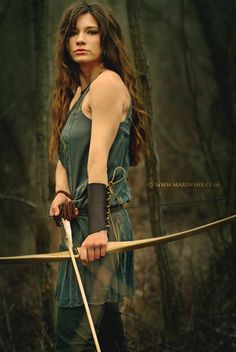 Kind of how I imagine I'm going to look when I get my bow!
