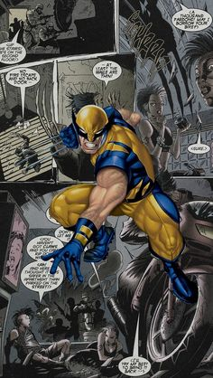 Wolverine Comics Iphone 5 Wallpaper