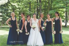 Bridal party | E Schmidt Photography | Metro Detroit Wedding Photographer | Grand Traverse Resort and Spa Wedding