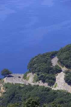 三方五湖レインボーライン 夏の風景