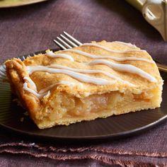 Apple Pie Bars/has cream cheese in the ingredients...YUM!