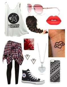 """""""#5SOS!"""" by mfgsoccer ❤ liked on Polyvore featuring Cutie Fashion, Victoria's Secret, Zero Gravity, Roberto Coin, River Island, Nadri, Lime Crime, women's clothing, women's fashion and women"""
