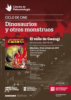 Proyección de 'El valle de Gwangi' dentro del ciclo de Cine 'Dinosaurios y otros monstruos' de la Cátedra de Paleontología