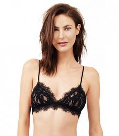The Most Expensive-Looking Lace Bras Under $50 via @WhoWhatWear  Tobi Leika Lace Bralette ($36)