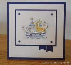 Jayne Mercer: Two by Two Stampin Up