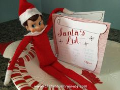 Master List of ideas for Elf - this family has been doing Elf for 3 years - lots of creative photos Merry Little Christmas, Cozy Christmas, Christmas Toys, Christmas Activities, Christmas And New Year, All Things Christmas, Christmas Holidays, Christmas Cookies, Holiday Crafts