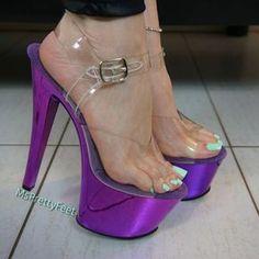 high heels – High Heels Daily Heels, stilettos and women's Shoes Clear High Heels, Hot High Heels, Platform High Heels, High Heel Boots, Stripper Heels, Purple Heels, Sexy Legs And Heels, Beautiful High Heels, Sexy Toes