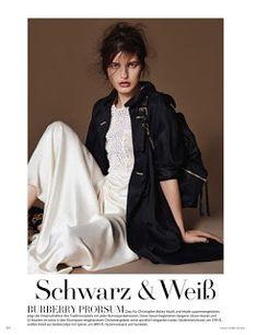 Julia Van Os for Vogue Germany