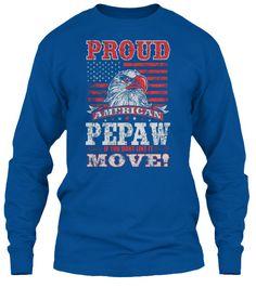 PROUD AMERICAN PEPAW