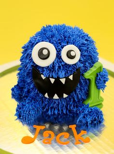 Monster Cake Savannah picked said was cute she said loved him