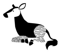 Okapi Tattoo Design by yen-yang88.deviantart.com on @DeviantArt