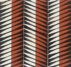 Elza Sunderland, mid century-The formal elements in this surface pattern which the designer has used are line and color ,he has used very little color but it gives a big impact to this design. Textile Prints, Textile Patterns, Textile Design, Color Patterns, Print Patterns, Surface Design, Art Deco, Pattern Wallpaper, Groomsmen