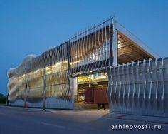 Производственные помещения Zahner от Crawford Architects. Канзас-Сити, США.