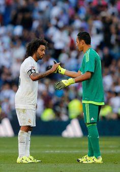 Marcelo & Keylor Navas Real Madrid