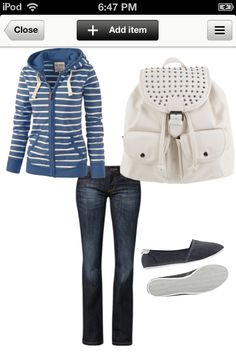 Comfortable outfit for school