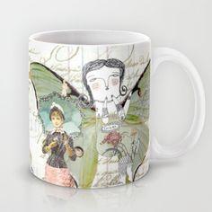 Volar - Don't cut your wings. Mug by artbythelma - $15.00