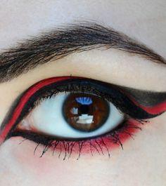 Red Eagle Makeup