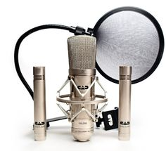 CAD GXL2200SSP Stereo Studio Pack with GXL2200 Cardioid Condenser Microphone, Two GXL1200 Cardioid Condenser Microphones, and EPF15A Pop Filter. Shock mount and mic clips are included. P48 (48V) phantom power is required. GXL2200SSP Stereo Studio Pack Contains one Cardioid Condenser, two Cardioid Condensers and one Pop Filter. Dimensions: weight: 2, width: 600, height: 1575. Warranty Certificate: 2 year parts and labor. Release Date: 2008-11-01.