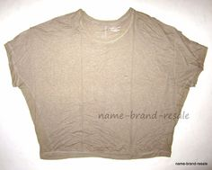 19d8d93bf0bb5e LANE BRYANT NEW Womens PLUS 22 24 3X Tan LINEN Dolman Loose SHIRT Top   LaneBryant  KnitTop  Casual