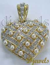 #14 K Diamond Ladies Pendant    Buy Now ! repin .. like .. share :)    $505 http://amzn.to/ZD8zTG