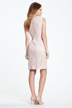 Watters Maids Dress Carita Style 5225 | Watters.com. - adorable back!!