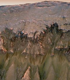 Mars May Be Habitable Today, Scientists Say Rod Pyle, SPACE.com Contributor       February 25, 2013  While Mars was likely a more hospitable place in its wetter, warmer past, the Red Planet may still be capable of supporting microbial life today, some scientists say. McEwen discussed some intriguing observations by HiRise, which suggest that briny water may flow down steep Martian slopes during the local spring and summer.