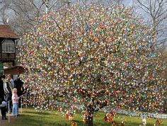 love this easter egg tree