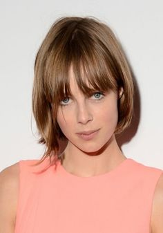 Edie Campbell's new bob