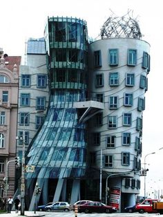 Dancing Architecture, Prague, Czech Republic