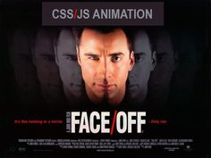 Official theatrical movie poster ( of for Face/Off Directed by John Woo. John Woo, Fbi Special Agent, Watch Free Movies Online, Internet Movies, John Travolta, Face Off, Funny Pranks, Action Movies, Great Movies