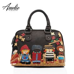 AMELIE GALANTI 2016 new fashion retro bag handmade embroidery doll portable single shoulder bag women bag free shipping