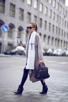 20 Formas De Usar Una Bufanda Oversized Este Invierno | Cut & Paste – Blog de Moda