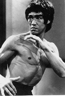 Bruce Lee - power, speed, fitness, and a philosophy of ultimate achievement.