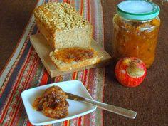 Mermelada de manzanas rojas, ciruelas y especias
