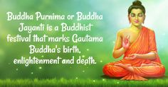 ‪#‎BuddhaPurnima‬ or Buddha Jayanti is a Buddhist festival that marks Gautama Buddha's birth, enlightenment and death. ‪#‎BringHomefestival‬