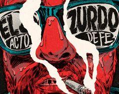 "Consulta este proyecto @Behance: ""El Zurdo Album Artwork"" https://www.behance.net/gallery/38401313/El-Zurdo-Album-Artwork"