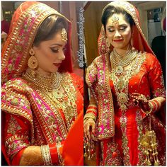 Panjabi Bride from 3am. In this morning  Took this picture when she was leaving for the temple. Hair makeup dopatta/jewelry setting by me @fabfacemakeupbyzeny #indianbrides #indianbride #muaworldwide #mua #makeuplover #hudabeauty #dressyourface #glam #glamour #bride #bridal #indianwear #indianwedds #indianweddings #indianweddinginspiration by fabfacemakeupbyzeny