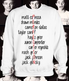Preorder Magcon Is Perfection Crewneck by KaliforniaDreamz on Etsy, $22.00