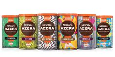 NESCAFÉ® AZERA® and Tesco embrace new creative talent with PSONA 12's help — The Dieline - Branding & Packaging