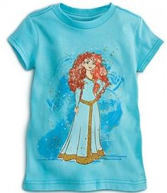 Princess t-shirts (size 5-6T) Minimal pink please. She is most familiar with Elsa, Ana, Merida, Tiana, & Rapunzel but any would be great!