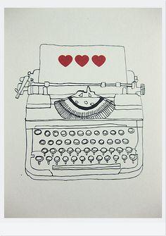 typewriters: I miss you.