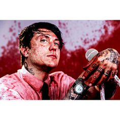 Frank Iero doing his awesome solo project check it out!