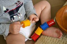 how we montessori: Otis 18 - 23 months 18 Month Old Activities, Baby Activities, Montessori Trays, Montessori Toddler, Baby Sensory, Sensory Play, Santa List, Toddler Fun, Threading