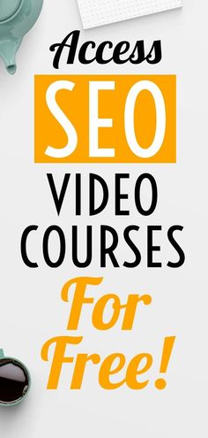 SEO Course - If you are looking for SEO course or training online, then here is a secret resourse from where you can access Video courses on Search engine optimization for free. Inbound Marketing, Marketing Digital, Content Marketing, Internet Marketing, Seo Optimization, Search Engine Optimization, Seo Training, Training Online, Free Seo Tools