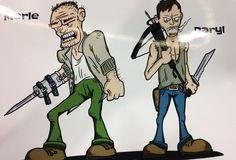 Merle Dixon and Daryl Dixon.